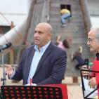 رئيس بلدية بيت جالا نقولا خميس 12/9/2015 يفتتح
