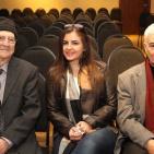 نادي الجسرة الثقافي يكرم حنا أبو حنا ويحيى يخلف وأحمد دحبور في متحف محمود درويش