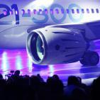 مراسم تقديم طائرة الركاب من طراز MS-21 في مصنع الطائرات التابع لشركة