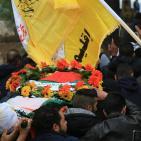 المئات يُشيعون جثمان الشهيد جهاد القدومي في قرية بيت وزن