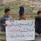 أهالي خربة قلقس يطالبون بفتح مدخل الخربة المغلق منذ 17 عاما