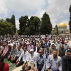 صور: أكثر من ربع مليون مصلٍ أدوا صلاة الجمعة في الأقصى