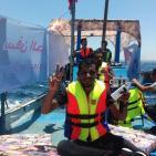 صور- سفينة الحرية الثانية تغادر ميناء غزة نحو قبرص