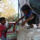 حياة الاطفال في تجمع الخان الاحمر بالقدس