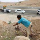 اعتداء قوات الاحتلال على مسيرة في الخان الأحمر