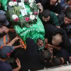 رام الله تودع شهيدها عثمان لدادوة