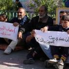 عودة اللجوء الى مدارس الأونروا في غزة