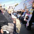 الخليل: وقفة تضامنية مع أسرى سجن