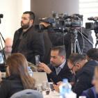 هيئة مقاومة الجدار والاستيطان تحتفي بالصحفيين الذين شاركوا في تغطية معركة الخان الأحمر
