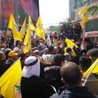 وقفة دعم وإسناد للرئيس محمود عباس في الخليل