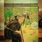 افتتاح معرض الفنانة التشكيلية جيهان أبو عمر