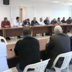 اتحاد المقاولين يناقش تدني أسعار المقاولين غير المسبوق في عطاءات غزة
