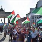برلين: وقفة احتجاجية أمام السفارة الأمريكية ضد ورشة المنامة وصفقة القرن
