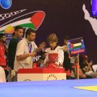 منافسات الأشبال في بطولة فلسطين الدولية الرابعة للتايكواندو