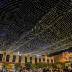 حفل  اضاءة شجرة الميلاد في بيت لحم