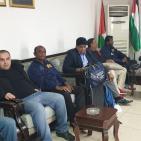 وصول بعثة منتخب سيريلانكا للسلة الى فلسطين لملاقاة الفدائي