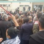 شرطة الاحتلال تعتدي وتعتقل متظاهرين ضد نتنياهو بالناصرة
