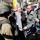 بالصور.. الاحتلال يقمع مسيرة لإحياء ذكرى مجزرة الحرم الإبراهيمي