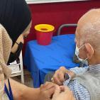 استمرار حملة التطعيم ضد كورونا في رام الله والبيرة
