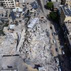 دمار هائل خلفه العدوان الإسرائيلي على غزة