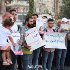 صور: وقفة تضامنية مع الأسيرة أنهار الديك وسط رام الله