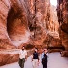 مدينة البتراء في الأردن احدى عجائب الدنيا السبعة
