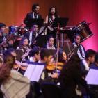 أوركسترا فلسطين للشباب في جامعة بيرزيت