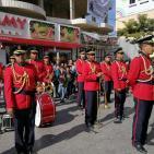الأجهزة الأمنية في الخليل تنظم عرضا عسكريا في ذكرى الاستقلال