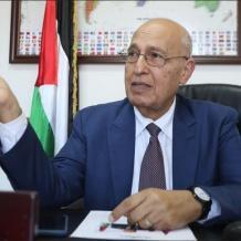 شعث: اهتمامات ترامب تقلصت وخطاب هام مرتقب للرئيس سيعتز به الفلسطينيون