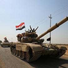 القوات العراقية تستعيد آخر البلدات من البيشمركة
