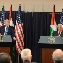 الرئيس لترامب: ملتزمون بالعمل لعقد صفقة سلام تاريخية