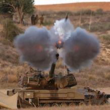 مدفعية الاحتلال تقصف نقطة رصد للمقاومة