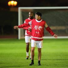 تدريبات الفدائي في الامارات استعدادا للقاء سوريا ضمن بطولة كأس آسيا 2019