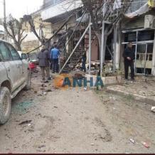 بينهم جندي أمريكي.. قتلى في تفجير انتحاري بميدنة منبج وداعش يتبنى