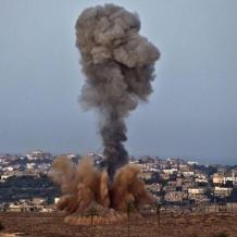 الاحتلال يقصف موقعا شمال غزة ردا على اطلاق نار