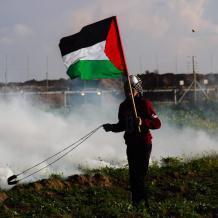 """""""جمعة باب الرحمة"""" على حدود قطاع غزة"""