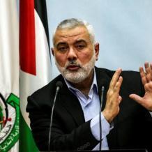إعادة انتخاب اسماعيل هنية رئيسا للمكتب السياسي لحركة حماس