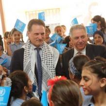 انطلاق العام الدراسي لمدارس الأونروا في لبنان