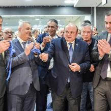 افتتاح فرع البنك العربي في لاكاسا مول برام الله
