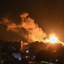 الاحتلال يشن غارات على عدة مواقع في غزة