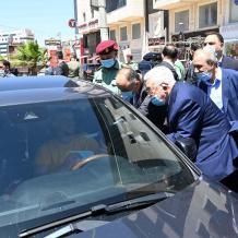 الرئيس يتفقد أوضاع المواطنين بمحافظة رام الله والبيرة