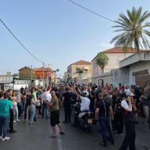 الاحتلال يقمع مسيرة مساندة للقدس في مدينة يافا