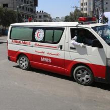 وفاة طفلة جراء صدمها مركبة في غزة