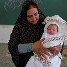 مولود نازح بغزة
