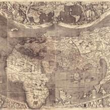 من أول من رسم خريطة العالم