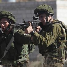 إصابة فتاتين  برصاص الاحتلال قرب  رام الله