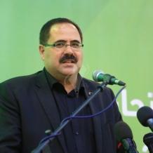 الوزير صيدم يصل غزة