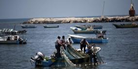 توسيع مساحة الصيد في غزة لستة أشهر