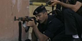 اشتباكات بين قوى الأمن ومسلحين في نابلس