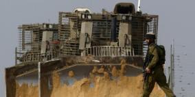 جرافات الاحتلال تواصل تجريف أراضي سلفيت